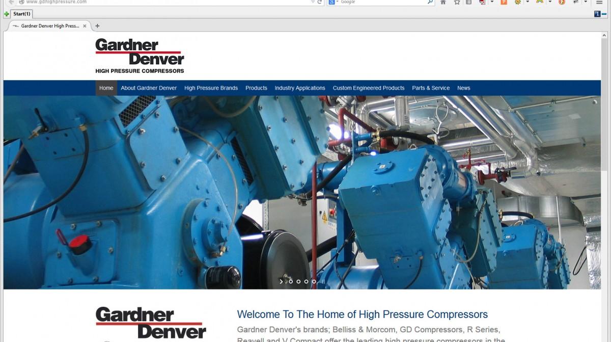 Gardner Denver Web Build