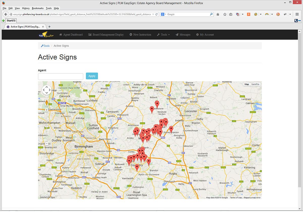 Estate Agent Board Management Software